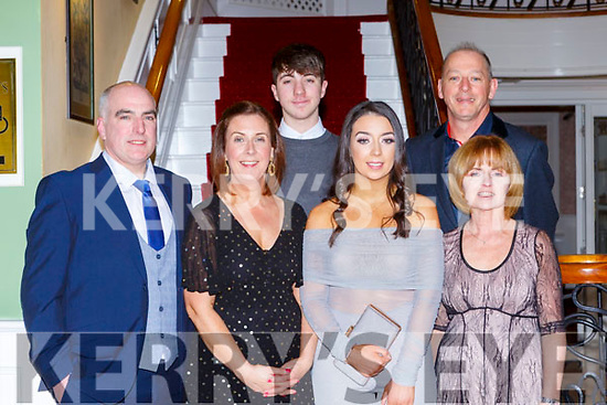 Mike, Catriona, Joe and Grace Cahillane, Geraldine and Alan Courtney enjoying the Fossa GAA club 50th anniversary social in the Dromhall Hotel on Saturday night