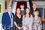 Mike, Catriona, Joe and Grace Cahillane, Geraldine and Alan Courtney enjoying the Fossa GAA club 50th anniversary social in the Dromhall Hotel on Saturday night