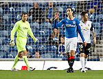 Bilel Mohsni apologies to his team mates after being caught dreaming by Marley Watkins
