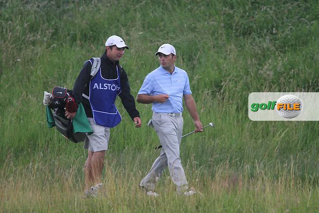Francesco Molinari (ITA) on Day 4 of the Alstom Open de France at Golf National,  Saint-Quentin-En-Yvelines, Paris, France, 8/7/12...(Photo Jenny Matthews/www.golffile.ie)