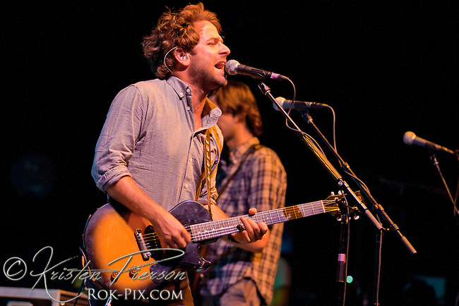 Dawes performs at the Providence Performing Arts Center 8-6-2012