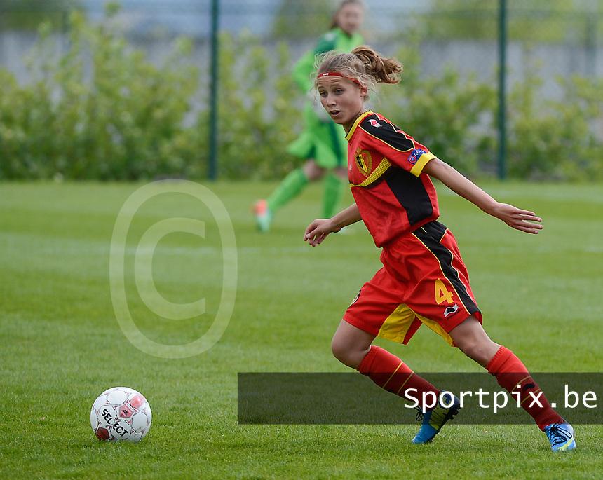 U 15 Belgian Red Flames - Virginia USA :<br /> <br /> Orelie Vangeel<br /> <br /> foto Dirk Vuylsteke / Nikonpro.be