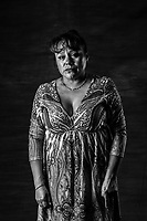 Ana Maria Velasco Rodriguez, 43, of the Mujeres de Atenco stands for a portrait on July 26, 2016 in Texcoco, Mexico. <br /> She was in jail for 10 minutes. <br /> <br /> I am not the same, I was very cheerful (alegre), &rdquo;pachanga para aqu&iacute; y para all&aacute;&rdquo; I am much more calmed now <br /> <br /> &ldquo;I am not afraid anymore because there is nothing worse that could happen to me that what already did, nothing, but death, and I have never been afraid of death.&rdquo;<br /> <br /> Her family, specially her brothers, relatives, even one of her lawyers have adviced her to stop fighting and stop being involved in the legal battle and public decry and denounce of what happened in 2006. <br /> <br /> One of the policemen that she recognized who had beaten and sexually tortured, was  released from jail, even after he was found guilty. &ldquo;That has been the hardest most enraging part of all this process I WAS full of anger, of thinking nothing happens, even after you find who ever is guilty, who every personally attacked you, they can walk with a simple &ldquo;amparo.&rdquo;<br /> <br /> That is how justice works in Mexico. <br /> <br /> I find strength in my children and in the other women. <br /> <br /> Anita era empleada en mercado de Xhinconcuac. <br /> <br />  She lost her job when she got out. <br /> <br /> One of her kids who was 7 years at the time, wanted to drop out of school. <br /> <br /> I STOPPED going to parties and out dancing when I used to love that. <br /> <br /> She has developed <br /> <br /> &ldquo;It is so dirty, politics, there is no justice here in Mexico, I didn&rsquo;t know that before, I thought everything was fine, but I do know it now.&rdquo;<br /> <br /> She dreams of having her own home. Travel and enjoy herself as much as she did before.