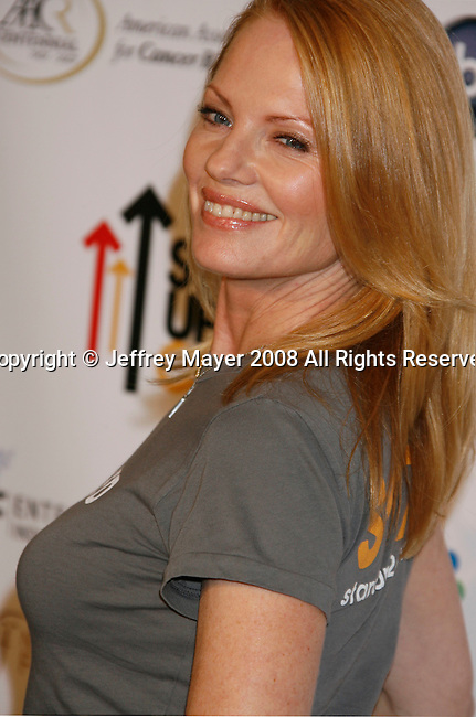 HOLLYWOOD, CA. - September 05: Actress Marg Helgenberger arrives at Stand Up For Cancer at The Kodak Theatre on September 5, 2008 in Hollywood, California.