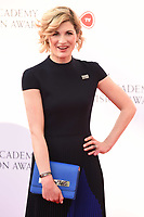 Jodie Whittaker arriving for the BAFTA TV Awards 2018 at the Royal Festival Hall, London, UK. <br /> 13 May  2018<br /> Picture: Steve Vas/Featureflash/SilverHub 0208 004 5359 sales@silverhubmedia.com