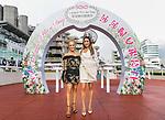 Nicole Purton (L) and Antonia Cruz (R) pose for photo during the Sa Sa Ladies' Purse Day at Sha Tin Racecourse on November 04, 2018 in Hong Kong, Hong Kong. Photo by Yu Chun Christopher Wong / Power Sport Images