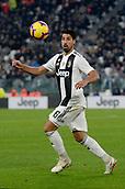2nd February 2019, Allianz Stadium, Turin, Italy; Serie A football, Juventus versus Parma; Sami Khedira of Juventus controls the ball
