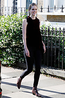 Dominic Cummings and Cleo Watson outside his home<br /> London, England on June 25, 2020.<br /> CAP/GOL<br /> ©GOL/Capital Pictures