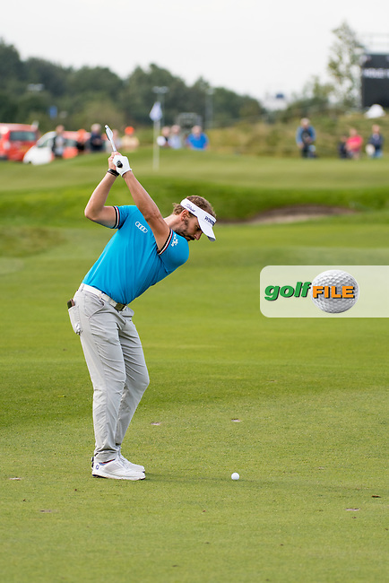 Joost Luiten (NED) in action on the 15th hole during the 1st round at the KLM Open, The International, Amsterdam, Badhoevedorp, Netherlands. 12/09/19.<br /> Picture Stefano Di Maria / Golffile.ie<br /> <br /> All photo usage must carry mandatory copyright credit (© Golffile | Stefano Di Maria)