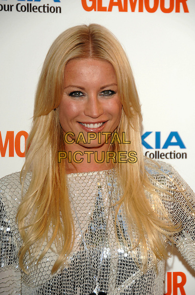 DENISE VAN OUTEN .Inside Arrivals at Glamour magazine's 4th Annual Woman of the Year Awards, held at Berkley Square Gardens, London, England, 5th June 2007..portrait headshot.Ref: CAP/PL.©Phil Loftus/Capital Pictures