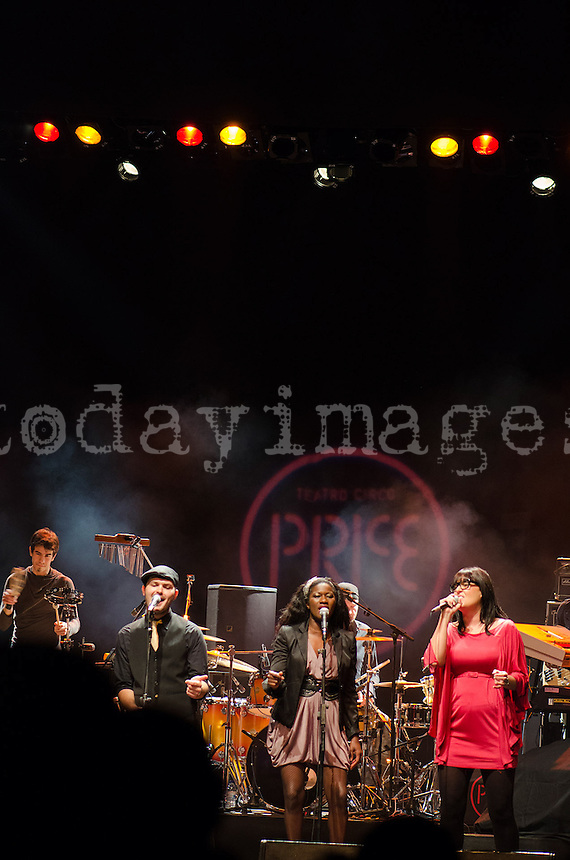 The London famous band,Incognito, played in Madrid