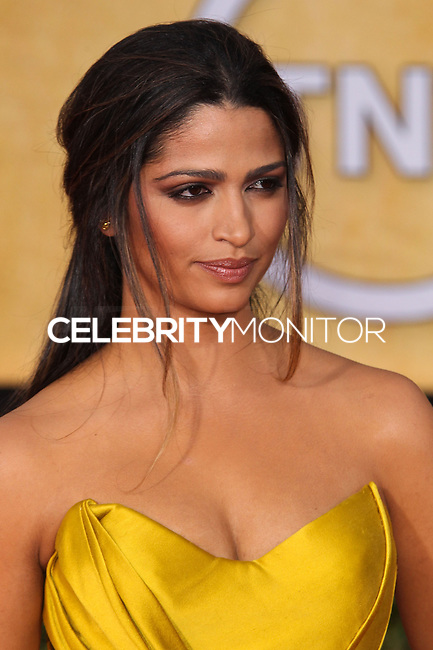 LOS ANGELES, CA - JANUARY 18: Camila Alves at the 20th Annual Screen Actors Guild Awards held at The Shrine Auditorium on January 18, 2014 in Los Angeles, California. (Photo by Xavier Collin/Celebrity Monitor)