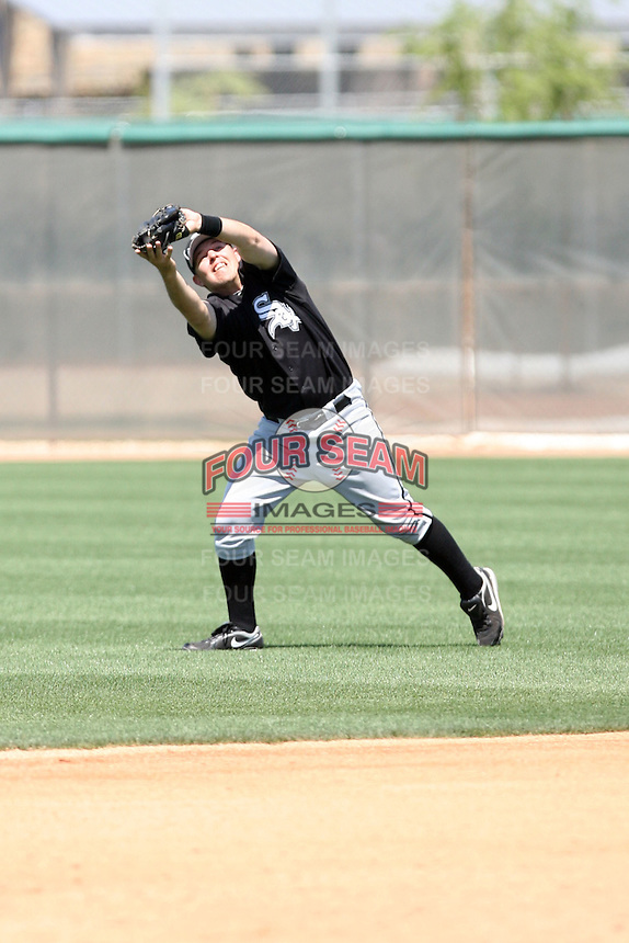 CJ Retherford, Chicago White Sox 2010 minor league spring training..Photo by:  Bill Mitchell/Four Seam Images.