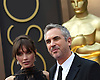 Sheherezade Goldsmith and Alfonso Cuaron<br /> 86TH OSCARS<br /> The Annual Academy Awards at the Dolby Theatre, Hollywood, Los Angeles<br /> Mandatory Photo Credit: &copy;Dias/Newspix International<br /> <br /> **ALL FEES PAYABLE TO: &quot;NEWSPIX INTERNATIONAL&quot;**<br /> <br /> PHOTO CREDIT MANDATORY!!: NEWSPIX INTERNATIONAL(Failure to credit will incur a surcharge of 100% of reproduction fees)<br /> <br /> IMMEDIATE CONFIRMATION OF USAGE REQUIRED:<br /> Newspix International, 31 Chinnery Hill, Bishop's Stortford, ENGLAND CM23 3PS<br /> Tel:+441279 324672  ; Fax: +441279656877<br /> Mobile:  0777568 1153<br /> e-mail: info@newspixinternational.co.uk