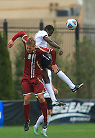 Washington, D.C. - Sunday, November 29, 2015: Boston College defeated Georgetown in penalty kicks in the round of sixteen of the NCAA Division One soccer tournament at Shaw Field.