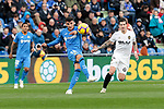 Getafe CF's Mauro Arambarri during La Liga match between Getafe CF and Valencia CF at Coliseum Alfonso Perez in Getafe, Spain. November 10, 2018.