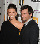 BEVERLY HILLS, CA. - October 26: Kate Beckinsale and Len Wiseman arrive at the 13th annual Hollywood Awards Gala Ceremony held at The Beverly Hilton Hotel on October 26, 2009 in Beverly Hills, California.