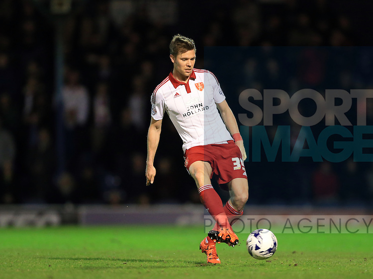 Sheffield United's Dean Hammond in action during the League One match at Roots Hall Stadium.  Photo credit should read: David Klein/Sportimage