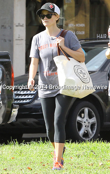 Pictured: Reese Witherspoon<br /> Mandatory Credit &copy; Ben Foster/Broadimage<br /> Reese Witherspoon leaving Yoga Classes in Brentwood<br /> <br /> 3/7/14, Brentwood, California, United States of America<br /> <br /> Broadimage Newswire<br /> Los Angeles 1+  (310) 301-1027<br /> New York      1+  (646) 827-9134<br /> sales@broadimage.com<br /> http://www.broadimage.com<br /> <br /> <br /> Pictured: Reese Witherspoon<br /> Mandatory Credit &copy; Ben Foster/Broadimage<br /> Reese Witherspoon leaving Yoga Classes in Brentwood<br /> <br /> 3/7/14, Brentwood, California, United States of America<br /> Reference: 030714_HDLA_BDG_003<br /> <br /> Broadimage Newswire<br /> Los Angeles 1+  (310) 301-1027<br /> New York      1+  (646) 827-9134<br /> sales@broadimage.com<br /> http://www.broadimage.com