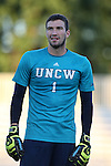 15 September 2015: UNCW's Sean Melvin (CAN). The Duke University Blue Devils hosted the University of North Carolina Wilmington Seahawks at Koskinen Stadium in Durham, NC in a 2015 NCAA Division I Men's Soccer match. UNCW won the game 3-0.