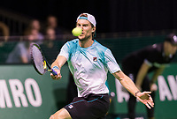 Rotterdam, Netherlands, 11 februari, 2018, Ahoy, Tennis, ABNAMROWTT, Qualifying final,  Andreas Seppi (ITA)<br /> Photo: Henk Koster/tennisimages.com