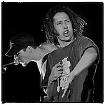 RATM's frontman and fellow UNI High Alum Zack De La Rocha plays The Grind in Phoenix, AZ October 16, 1993