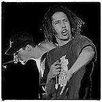 RATM's frontman and fellow UNI High Alum Zack De La Rocha plays The Grind in Phoenix, AZ October 16, 1993