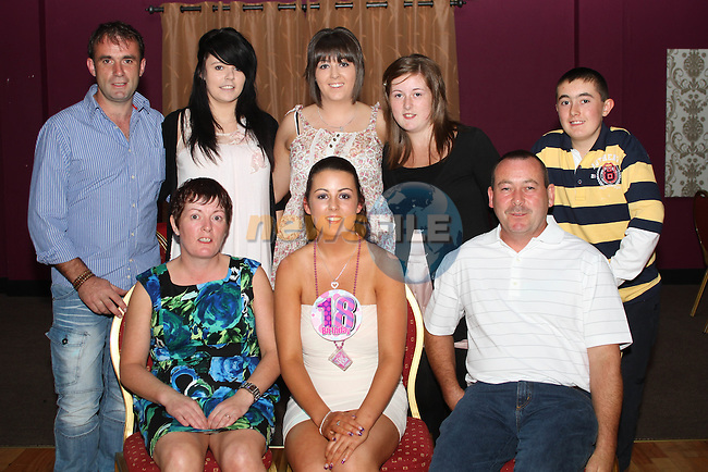 Selina Gorman with her family at her 18th in The Star and Crescent...Photo NEWSFILE/Jenny Matthews.(Photo credit should read Jenny Matthews/NEWSFILE)....This Picture has been sent you under the condtions enclosed by:.Newsfile Ltd..The Studio,.Millmount Abbey,.Drogheda,.Co Meath..Ireland..Tel: +353(0)41-9871240.Fax: +353(0)41-9871260.GSM: +353(0)86-2500958.email: pictures@newsfile.ie.www.newsfile.ie.FTP: 193.120.102.198.