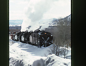 C&amp;TS rotary snowplow #OY being pushed in a a little snow by #487 and #484 east of Chama.<br /> C&amp;TS  e. of Chama, NM