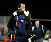 Blackpool manager Gary Bowyer <br /> <br /> Photographer Alex Dodd/CameraSport<br /> <br /> EFL Checkatrade Trophy - Northern Section Group B - Accrington Stanley v Blackpool - Tuesday 3rd October 2017 - Crown Ground - Accrington<br />  <br /> World Copyright &copy; 2018 CameraSport. All rights reserved. 43 Linden Ave. Countesthorpe. Leicester. England. LE8 5PG - Tel: +44 (0) 116 277 4147 - admin@camerasport.com - www.camerasport.com