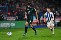 Borja Baston of Swansea City in action during the Sky Bet Championship match between Huddersfield Town and Swansea City at The John Smith's Stadium in Huddersfield, England, UK. Tuesday 26 November 2019