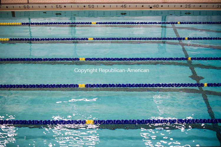 WATERBURY, CT - 22 December 2015-122215EC10--  Generic shot of Kennedy's high school pool. Erin Covey Republican-American.