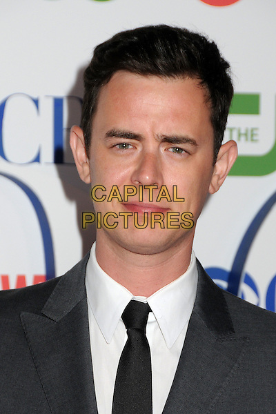 Colin Hanks.CBS, CW and Showtime Summer 2011 TCA Party held at The Pagoda, Beverly Hills, California, USA..August 3rd, 2011.headshot portrait white black grey gray  .CAP/ADM/BP.©Byron Purvis/AdMedia/Capital Pictures.