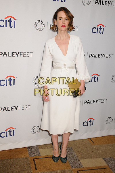 28 March 2014 - Hollywood, California - Sarah Paulson. PaleyFest 2014 - &quot;American Horror Story: Coven&quot; held at the Dolby Theatre.  <br /> CAP/ADM/BP<br /> &copy;Byron Purvis/AdMedia/Capital Pictures