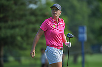Jacqui Concolino (USA) watches her tee shot on 5 during round 4 of the 2018 KPMG Women's PGA Championship, Kemper Lakes Golf Club, at Kildeer, Illinois, USA. 7/1/2018.<br /> Picture: Golffile | Ken Murray<br /> <br /> All photo usage must carry mandatory copyright credit (&copy; Golffile | Ken Murray)
