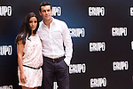 "Presentation at the Intercontinental Hotel in Madrid of the film ""Group 7"" with the presence of the actors Mario Casas, Antonio de la Torre, Inma Cuesta, Jose Manuel Poga, Joaquin Nunez, director Alberto Rodriguez, and producer Jose Antonio Fellez. In the picture: Mario Casas e Inma Cuesta..(Alterphotos/Marta Gonzalez)"