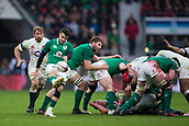17th March 2018, Twickenham, London, England; NatWest Six Nations rugby, England versus Ireland; Conor Murray of Ireland clears the ball