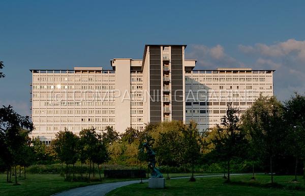 The ZNA Middelheim Hospital in Wilrijk, Antwerp (Belgium, 08/08/2009)