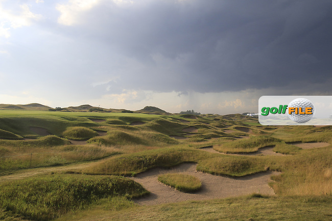 The 11th hole during Monday's Practice Day of the 97th US PGA Championship 2015 held at Whistling Straits, Mosel, Kohler, Wisconsin, United States of America. 10/08/2015.<br /> Picture Eoin Clarke, www.golffile.ie