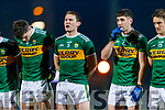 Tadhg Morley Paul Geaney Kerry players before the Allianz Football League Division 1 Round 3 match between Kerry and Dublin at Austin Stack Park in Tralee, Kerry on Saturday night.