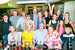 Pierce wallace from ballinorig, Tralee celebrating his 65th birthday with family in The Brogue Inn on Saturday night
