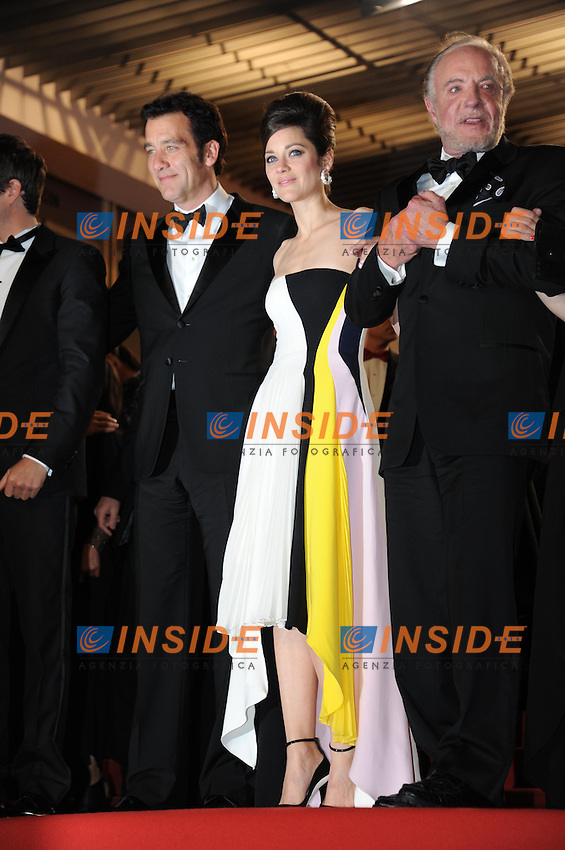 Clice Owen ; Marion Cotillard .Cannes 20/5/2013 .Festival del Cinema di Cannes .Foto Panoramic / Insidefoto .ITALY ONLY