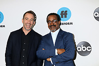 LOS ANGELES - FEB 5:  Bryan Callen, Tim Meadows at the Disney ABC Television Winter Press Tour Photo Call at the Langham Huntington Hotel on February 5, 2019 in Pasadena, CA