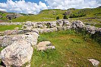 Photo of  the  Palace Walls to the Hittite capital Hattusa 5