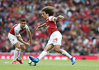 Arsenal's Matteo Guendouzi<br /> <br /> Photographer Rob Newell/CameraSport<br /> <br /> The Premier League - Arsenal v West Ham United - Saturday August 25th 2018 - The Emirates - London<br /> <br /> World Copyright © 2018 CameraSport. All rights reserved. 43 Linden Ave. Countesthorpe. Leicester. England. LE8 5PG - Tel: +44 (0) 116 277 4147 - admin@camerasport.com - www.camerasport.com