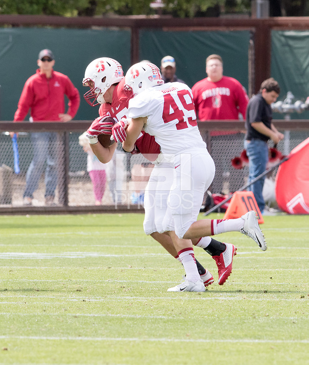 Stanford, CA - April15, 2017:  Lewis Burik at Cagan Stadium.