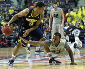 Oakland University vs University of Michigan, Mens College Basketball, 12/10/11