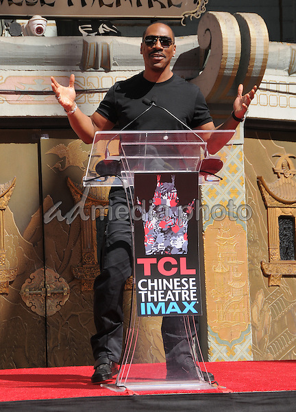 29 September 2016 - Hollywood, California. Eddie Murphy. Jeffrey Katzenberg Hand And Footprint Ceremony held at The TCL Chinese Theater. Photo Credit: Birdie Thompson/AdMedia