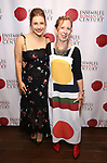 "Victoria Lewis and Eve Wolf attends the Opening Night Party for ""Because I Could Not Stop: An Encounter with Emily Dickinson"" at the West Bank Cafe on September 27, 2018 in New York City."