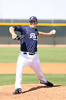 Aaron Poreda, San Diego Padres 2010 minor league spring training..Photo by:  Bill Mitchell/Four Seam Images.